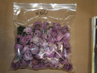 60   NOZZlES   BODY ONlY   NO TIPS   PURPlE 58