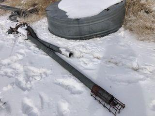 Drill fill auger
