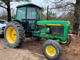 Receivership Auction of Farm Machinery