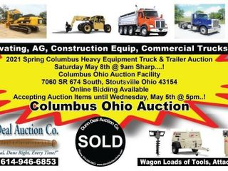 2021 Spring Columbus Heavy Equipment Truck & Trailer Auction