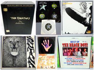 Rare Vinyl LP Records and Album Consignment Auction