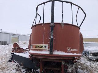 Hesston bale processor