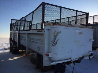 End dump trailer