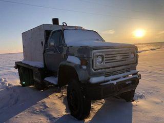 C65 Chevy water truck
