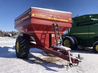 Crustbuster grain cart