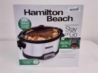 New Hamilton Beach 7Qt  Slow Cooker