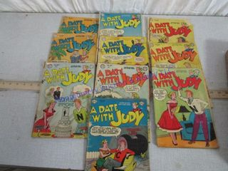 DATE W JUDY COMIC BOOKS