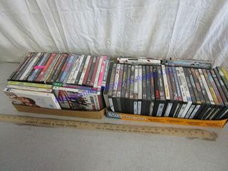 BOXES DVDS