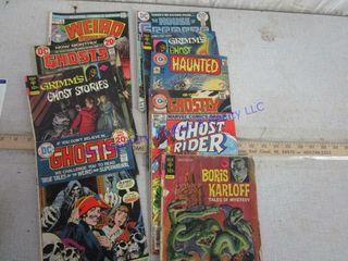 GHOST COMIC BOOKS