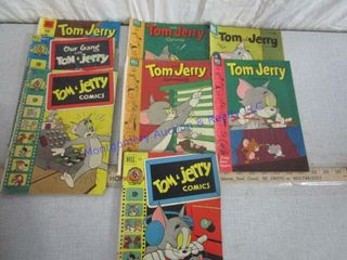 TOM AND JERRY COMIC BOOKS