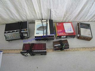 5 RADIO SCANNERS