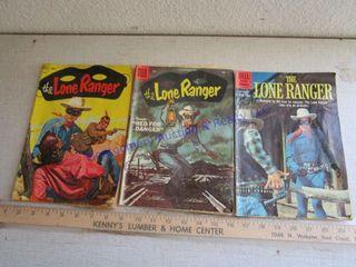 lONE RANGER COMIC BOOKS