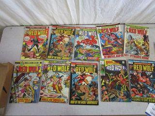 RED WOlF COMICS