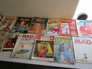 MAD COMIC MAGAZINES