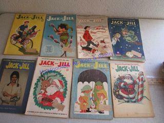 JACK   JIll COMIC BOOKS