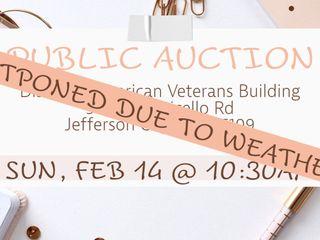 Personal Property Auction | DAV | Sun, Mar 07, 2021