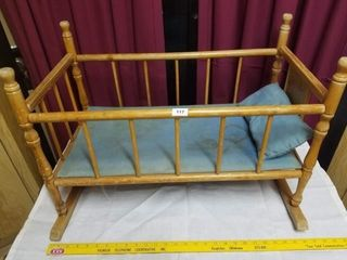Doll bed rocker