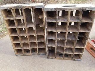 2 Pepsi Wood Crates