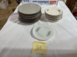 Misc  dessert plates  stoneware 6   Homer