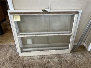 Vintage Wooden Framed Windows