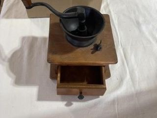 Vintage Wooden Coffee Grinder