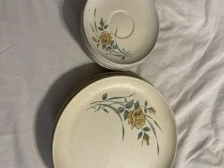 Vintage lenox Ware dinner plates and saucers