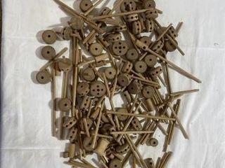 Vintage Wooden Tinker Toys