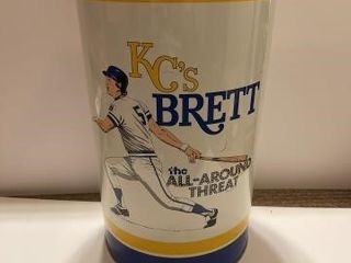 George Brett trash can