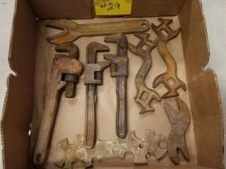 Vintage wrenches