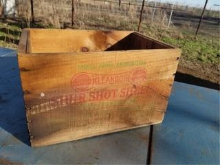 Sure Shot Shell Wood Box