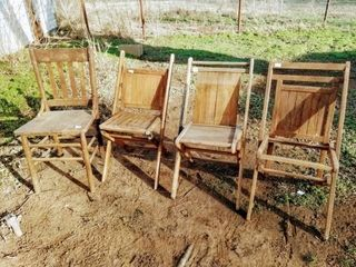 Wood Folding Chairs and Wood Kitchen Chair