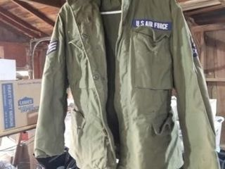 air force jacket 2 canteens