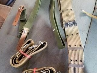 Military belts  straps