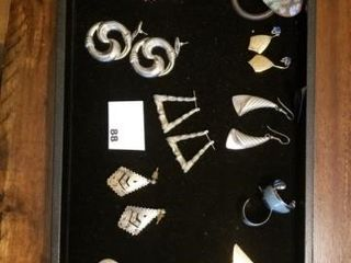 Earring lot   10 post earring sets