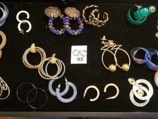 Hoop Style Earring lot