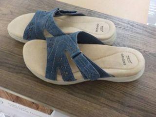 Earth Origins size 7 blue sandals n...
