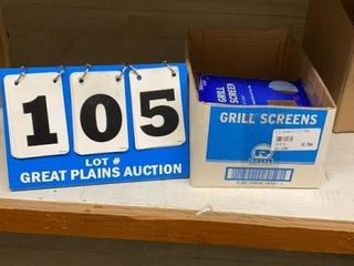lot of Grill Screens  6 Packages