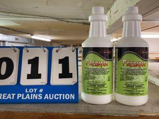 2 Bottles Predator Sanitizer