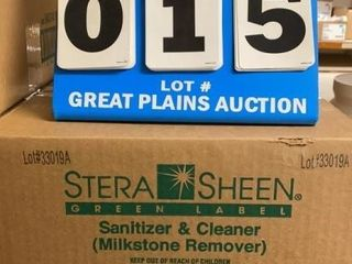 Case of Stera Sheen Sanitizer