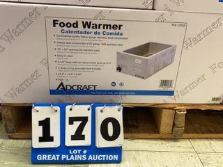 Adcraft Food Warmer