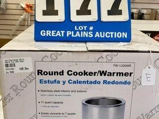 Adcraft Round Cooker Warmer