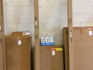Set of 5 Metal Shelves with 86IJ Posts