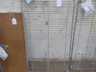 Single Metal Shelf