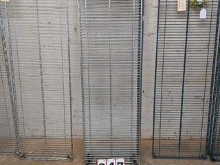 Three Metal Shelves