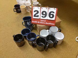10 Evco coffee cups