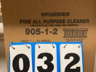 Case of Spurrier All Purpose Cleaner