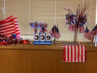 lot of Patriotic Decorations