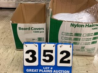 lot of Ammex Hair Nets and Beard Covers