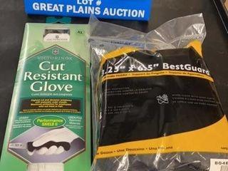 San Jamar Handle Holders and Victorinox Gloves