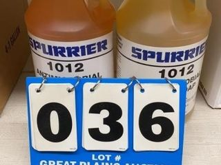 2 Bottles Spurrier Antimicrobial Hand Soap